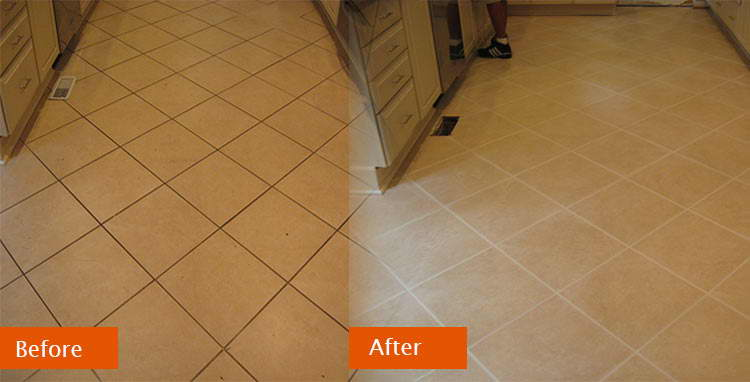 Grout Colour And Seal - Gold Coast - Your floor will look better than ever with a new, consistent grout colour