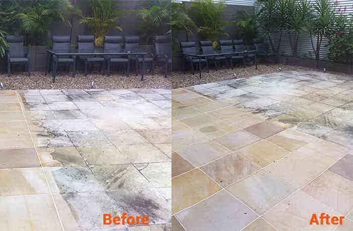 Sandstone Cleaning - Gold Coast - Constantly looking to find new techniques