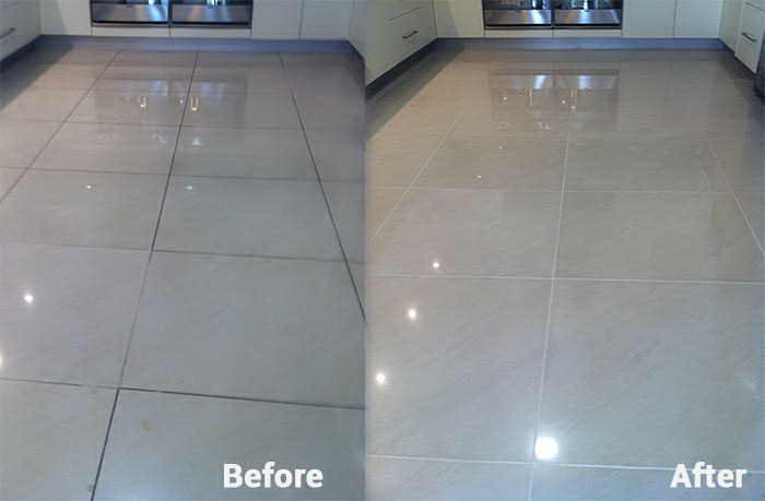 Porcelain Tile Care - Gold Coast - Tile floor wax wax finish on porcelain