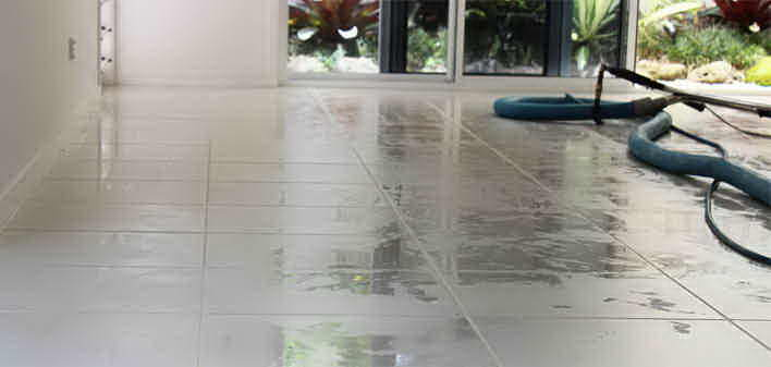 Tile And Grout Cleaning - Gold Coast - Parklane Cleaning Services tile and grout cleaning process