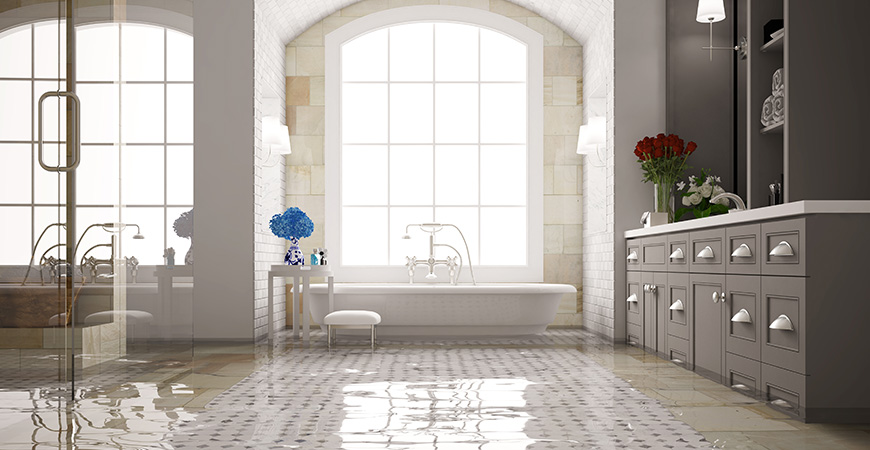 Home Flooded? Here's What Can Happen to Your Tile Floor